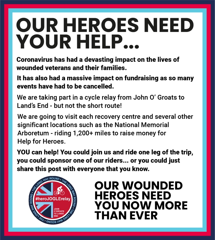 Our heroes need your help
