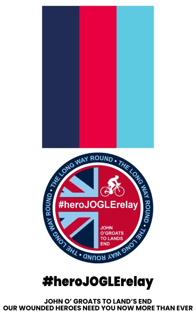 Hero JOGLE Relay Medal